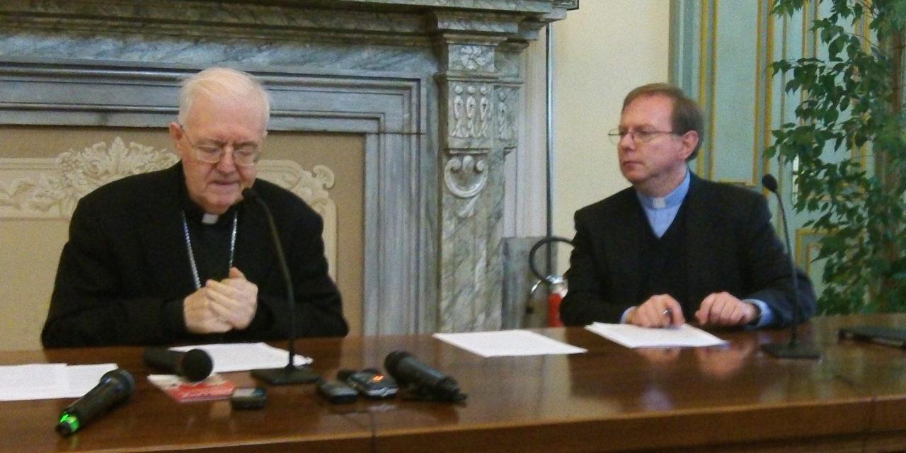 L'Arcivescovo di Torino Cesare Nosiglia incontra la stampa. Il resoconto di un anno difficile.