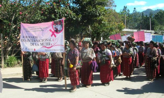 """L'8 marzo donne Maya """"fanno la festa"""": al machismo"""