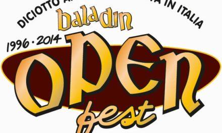 """Open Baladin Fest 2014 """"18 anni di Birra Viva in Italia"""""""