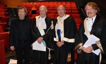 Laurea Honoris Causa in Filosofia per Anselm Kiefer e Werner Gephart.