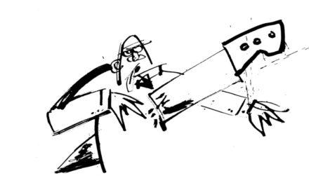 Le storie cattive di Gavino Sanna allo spazio Mouv. Disegni dedicati ad Alda Merini.