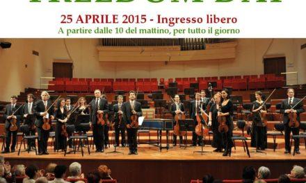 Il Freedom Day dell'Orchestra Rai celebra il 70° anniversario della Liberazione.
