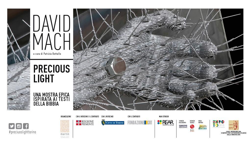 Verso PRECIOUS LIGHT – le opere di David Mach arrivano alla Promotrice