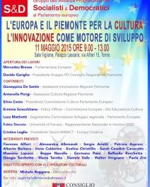 """Verrà """"l'Anno Europeo del Patrimonio Culturale"""". Intanto a Torino se ne discute."""