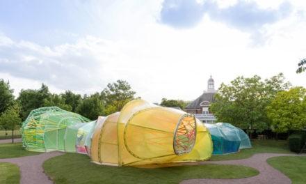 Brand scandinavo per celebrare le Park Nights della Serpentine Gallery di Londra.