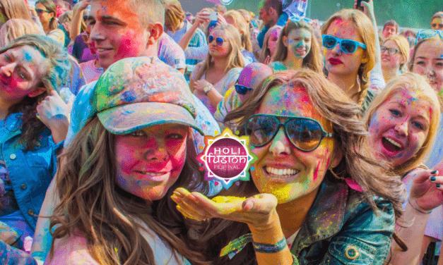 L'Holi Fusion Festival al PalaVela. Benedetti colori gulal.