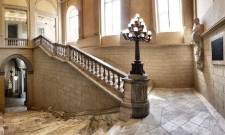 Dopo mesi di restauri lo scalone dell'Accademia Albertina torna alla bellezza di un tempo