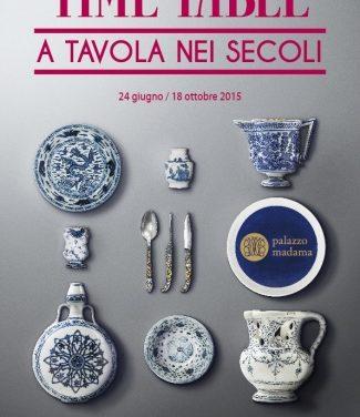 """A Palazzo Madama si cena al museo """"TIME TABLE"""" la mostra sulla convivialità nei secoli"""