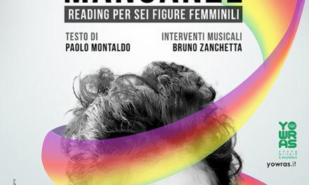 """Sei donne per un reading pieno di """"Mancanze"""". La voce è quella di Tiziana Catalano."""