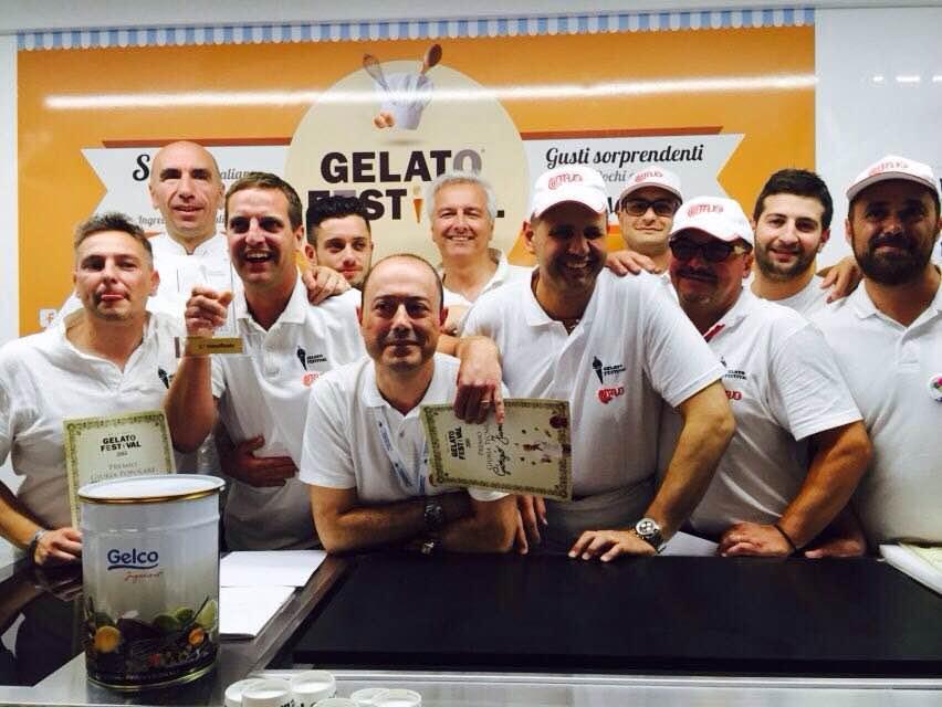 Un arrivederci dai gelatieri in gara al Gelato Festival Torino di giugno