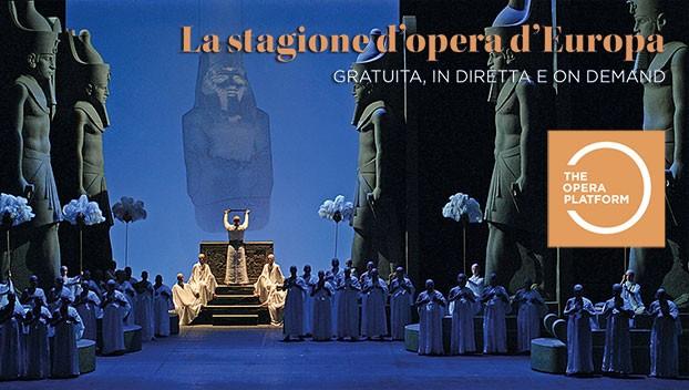 Iniziata l'era digitale della lirica. Il Teatro Regio unico teatro italiano sul podio del web.