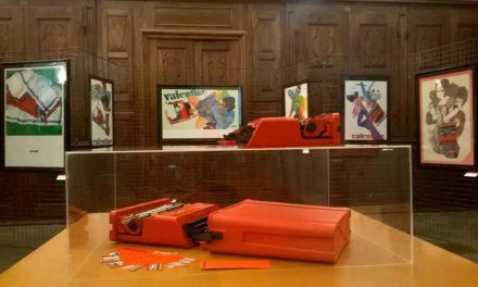 Valentine Olivetti. Design profondo rosso.