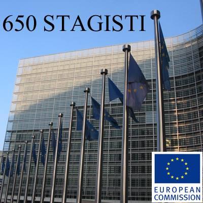 La Commissione Europea chiama. Cinque mesi di stage retribuiti da ottobre a febbraio.