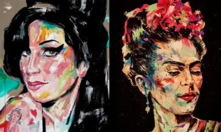 Le Gru diventa galleria d'arte – Live painting con Max Petrone