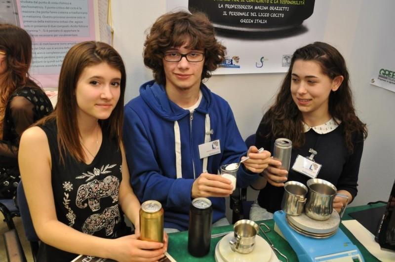 La scienza applicata alla vita. Piemontesi alcuni vincitori del Concorso Europeo i giovani e le scienze.