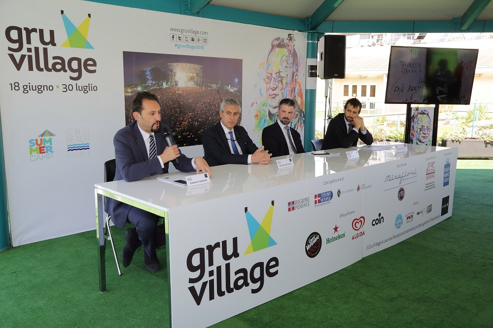 conferenza stampa Gruvillage, foto Roberto Troisi