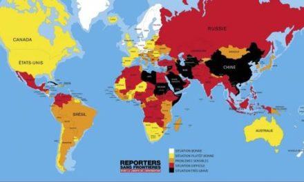 «Un anno eccezionale per la censura» Così Reporter sans Frontieres. Italia al 77°esimo posto.