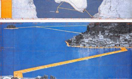 Chi muove le acque. Camminare sul Lago d'Iseo è il grande progetto dell'artista Christo.