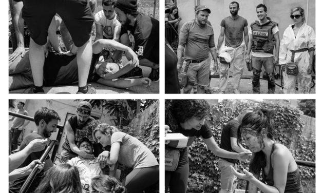 A Torino Risc: il primo training per i freelance che operano in aree di crisi e in zone di guerra