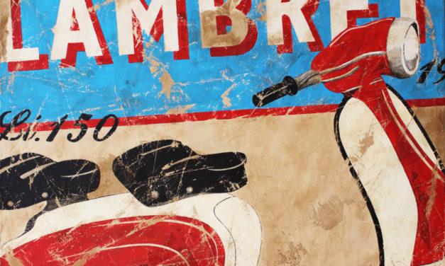 Bonheur e ottimismo alla Galleria Grafica Manzoni con le opere di Lorenzo Crivellaro