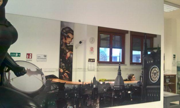 Alla Scuola Internazionale di Comics di Torino si disegnano le tavole del futuro.