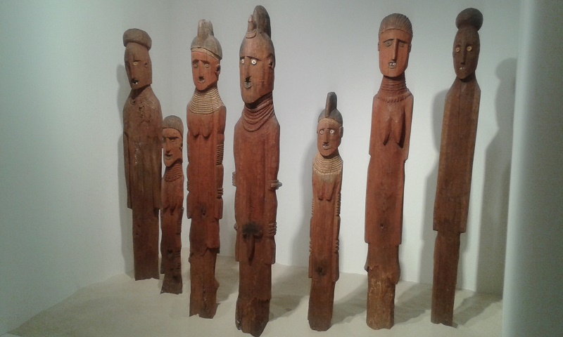 Waga, Etiopa, Konso_sculture funerarie XX secolo