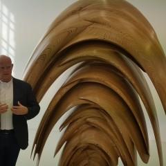 Le energie della materia nelle nuove sculture di Tony Cragg a Torre Pellice.