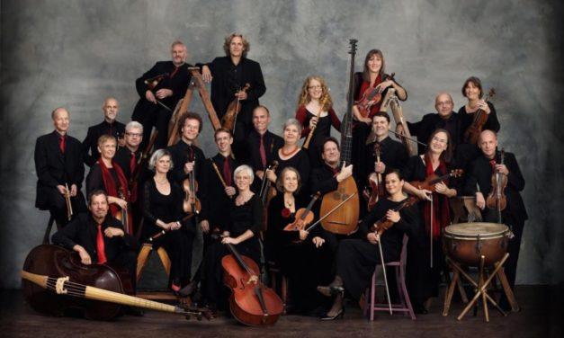 L'ensemble vocale dei ragazzi del Windsbacher diretti da Martin Lehmann per la Messa in si minore di Bach.
