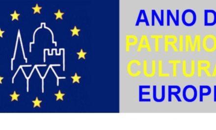 La UE ci dice che il 2018 sarà l'anno del Patrimonio Culturale Europeo.