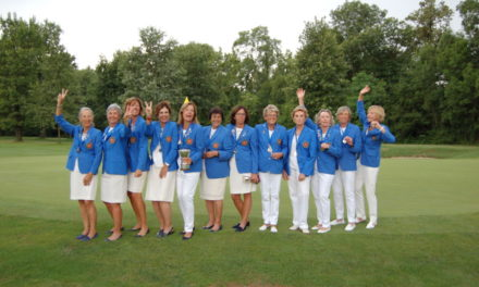 Donne di golf. Azzurre al top nell'Europeo femminile Seniores al Circolo Golf Torino-La Mandria.