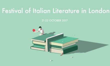 """I """"FILL"""" good. Nasce il primo Festival Italiano di Letteratura a Londra."""