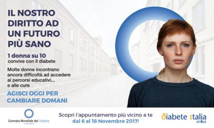 La Giornata Mondiale del Diabete sabato 11 novembre a Torino. Prevenzione, consigli e informazione.