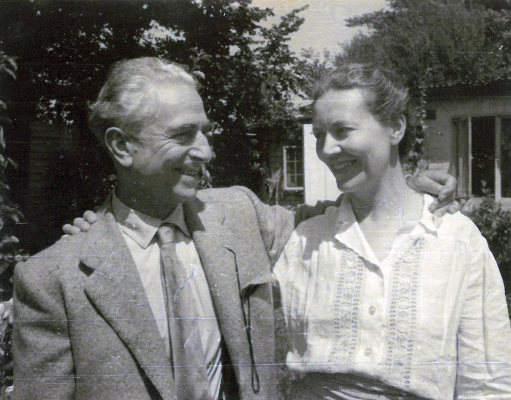 Felice Casorati e Daphne Maugham a Pavarolo anni Trenta
