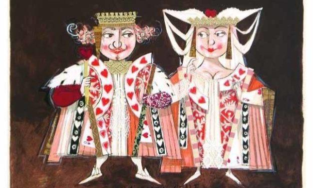 Il Re bianco e la Regina nera si incontravano di sera fuori dalla scacchiera. Paolo Fresu pittore.
