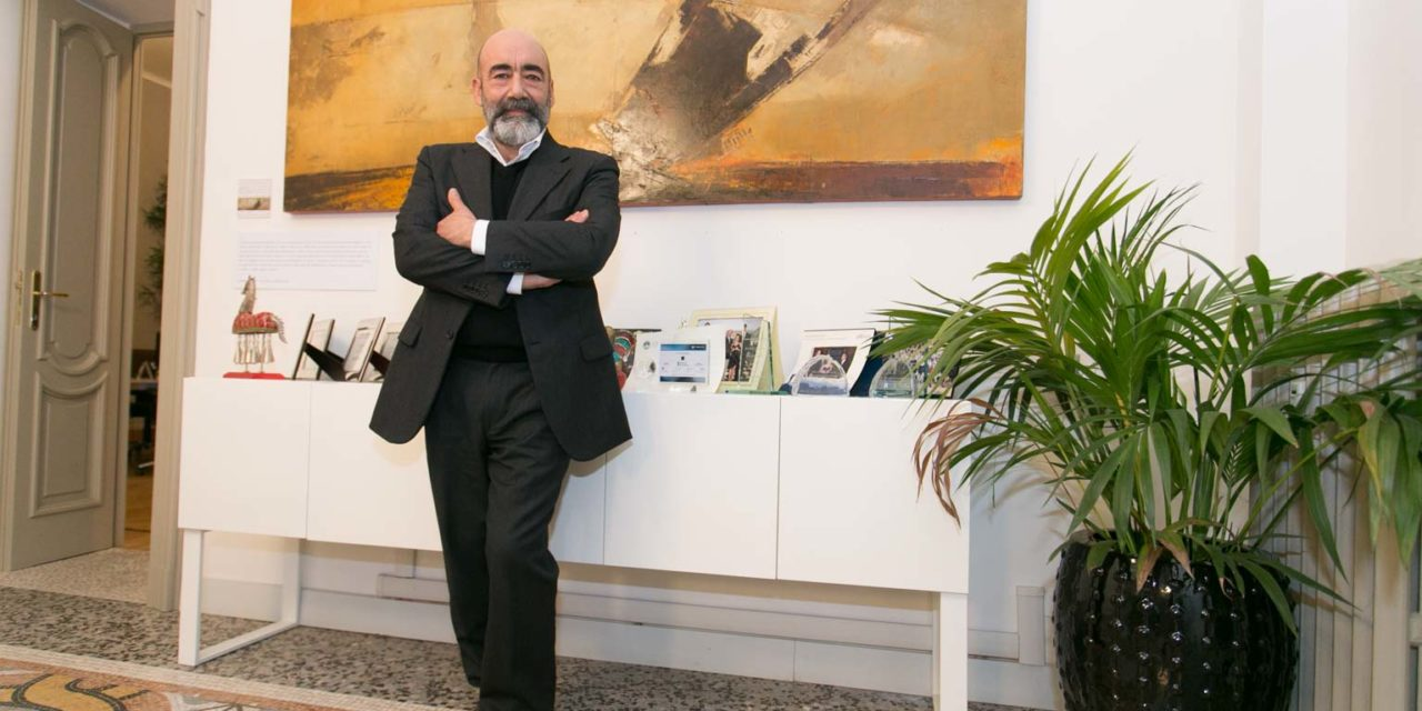 Le Direzioni di Franco Fasulo. Mostra personale negli uffici Azimut Wealth Management.