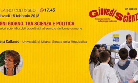 La Senatrice Elena Cattaneo a Giovedì Scienza. GazzettaTorino l'ha intervistata.