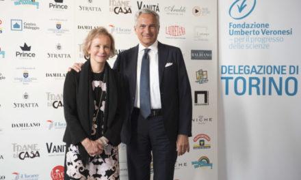 La delegazione torinese della Fondazione Veronesi al suo terzo charity event per l'oncologia pediatrica.