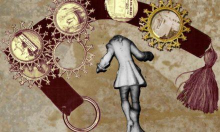 Collage digitali evocano antiche Presenze. Una mostra al Blah Blah per recuperare memoria.
