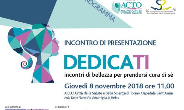 """Parte da Torino il progetto """"Dedicati"""" dell'associazione ACTO. Incontri di bellezza per prendersi cura di sé"""