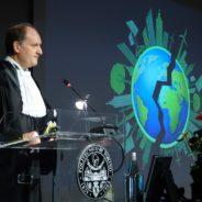 Inaugura l'anno accademico del Politecnico di Torino. Situazione difficile per il Piemonte.