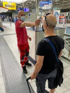 ll Comitato della Croce Rossa e Torino Airport