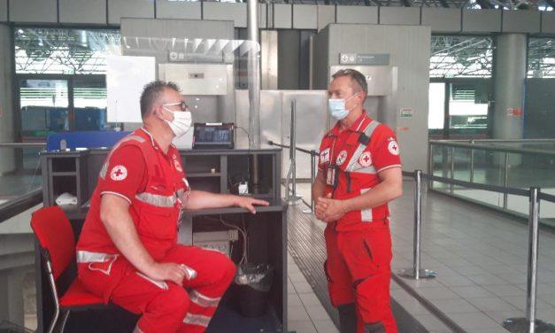 Il Comitato della Croce Rossa e Torino Airport proseguono l'impegno per la sicurezza.