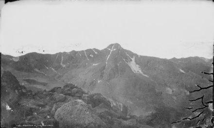 La montagna della Santa Croce.