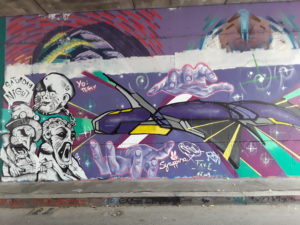 La street Art per gli spazi urbani.