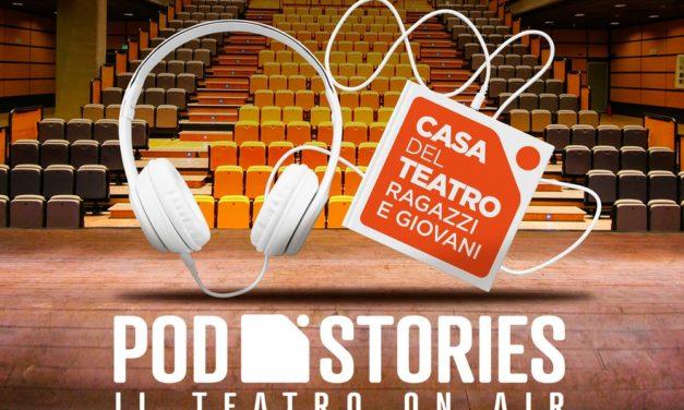 """Arrivano le """"Pod Stories"""" con la voce degli attori della Casa del Teatro Ragazzi."""