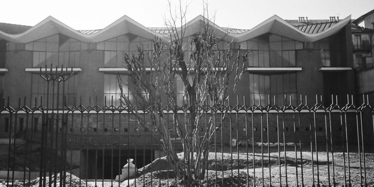 E' un discorso sull'architettura quello nelle foto in b/n di Roberto Gabetti