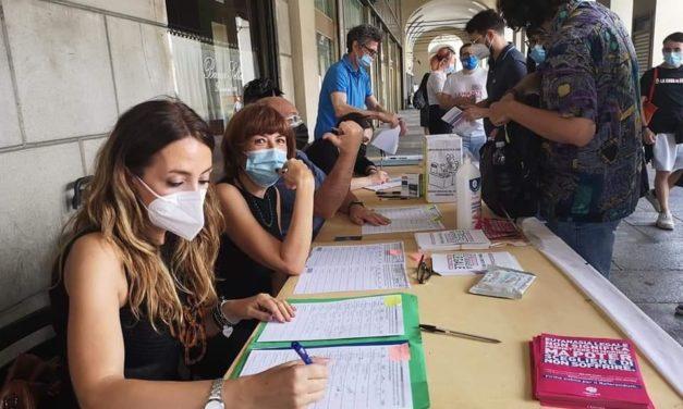 Torino capitale dei diritti civili. Raccolta firme per il diritto ad una fine degna.
