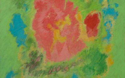 In gara con l'arcobaleno. I dipinti di David Ruff in una ex canonica.