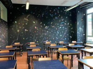 L'arte riqualifica l'Istituto Guarino Guarini di Torino.